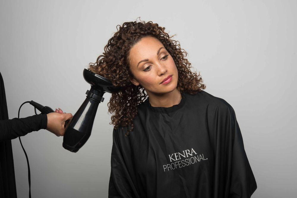 STEP 3: Diffuse hair or allow it to air dry.