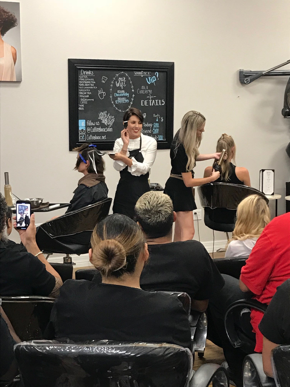 Niki Pleas shares some Balayage techniques while Cheyanne Clark demos some runway worthy looks.