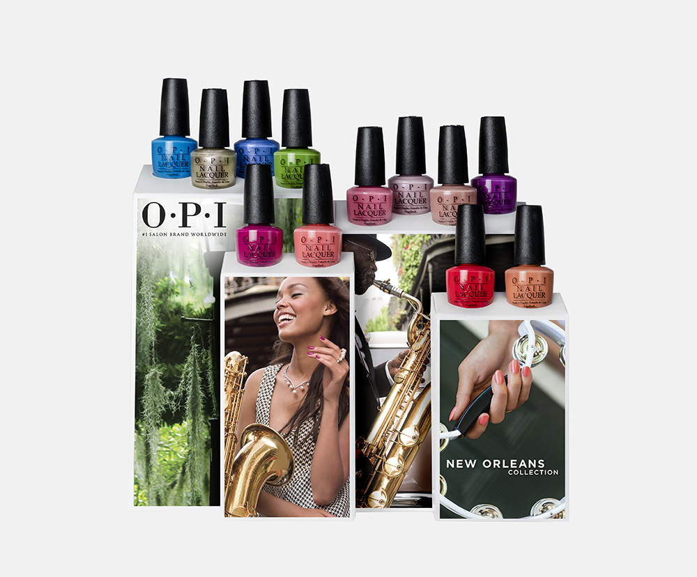 OPI Launches New Orleans Collection for Spring 2016