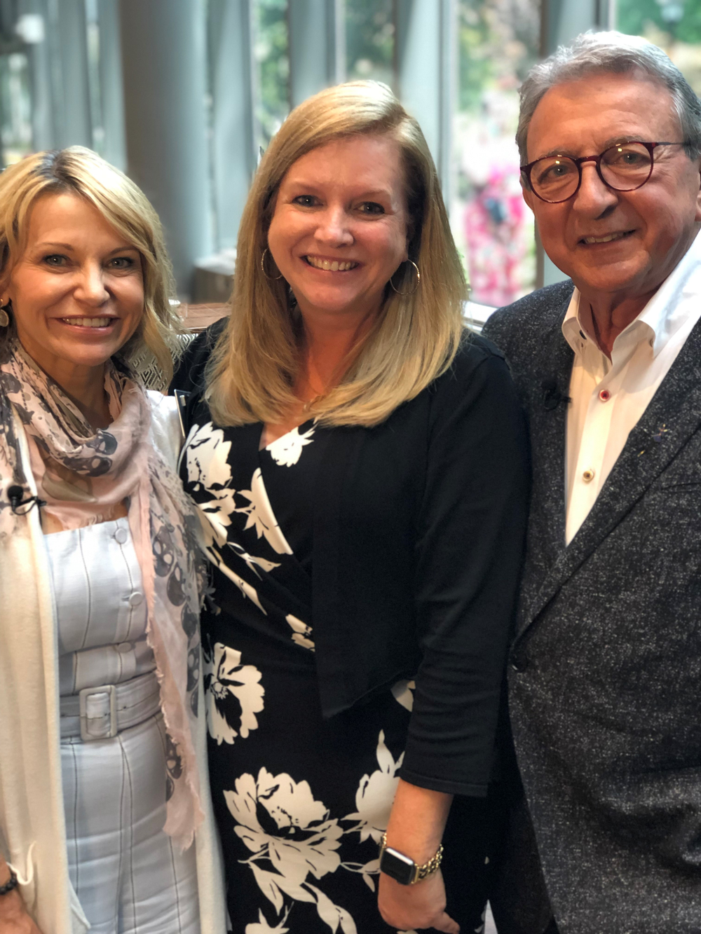 At the Data-Driven Summit, Debra Penzone and Charles Penzone were honored with the 2019 Salons of the Year Grand Prize Award from Salon Today's Stacey Soble (center) for their PENZONE Salon + Spa location in Dublin, Ohio.