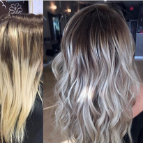 MAKEOVER: Softening Lines To Create A Cool blonde