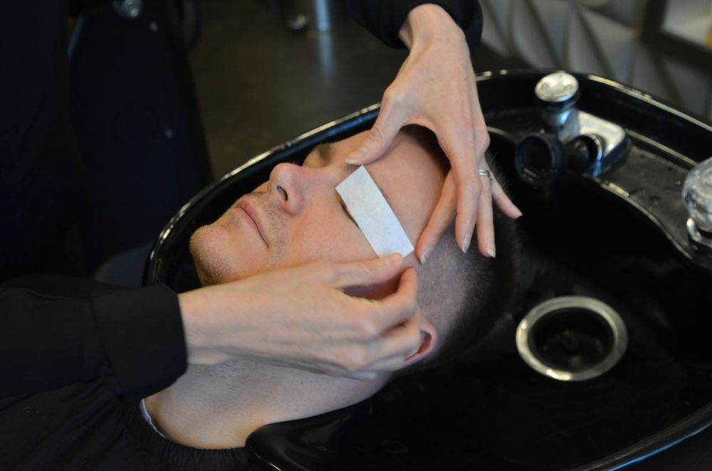Offering brow, nose and ear waxing is an easy add-on service.
