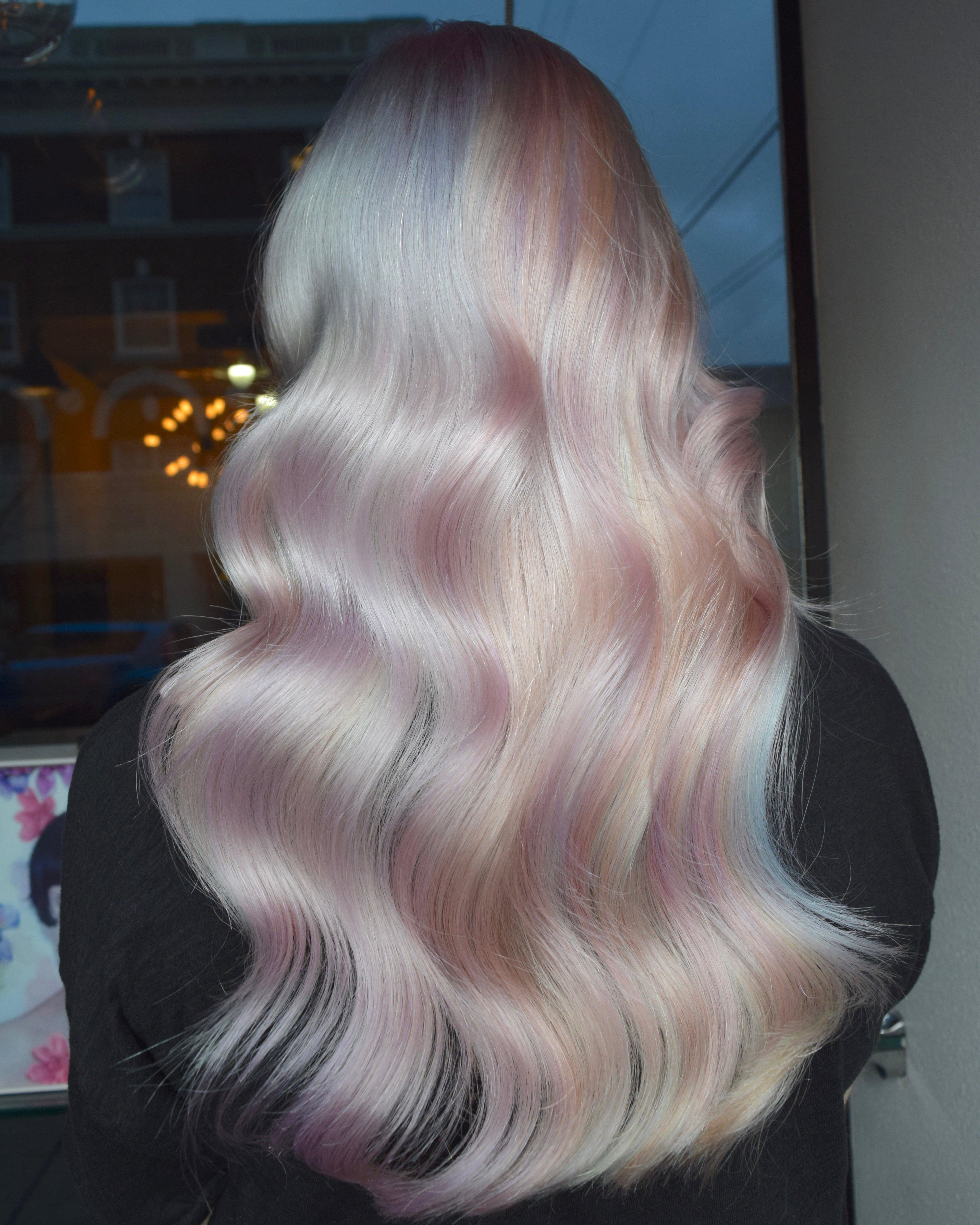 FORMULA: White Opal Prismatic Hair Color