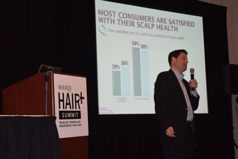 MODERN'S Steve Reiss presents the results of Modern Salon Media's hair loss research study.
