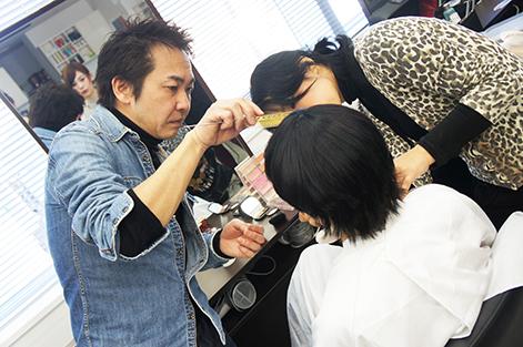 Yamamura on set