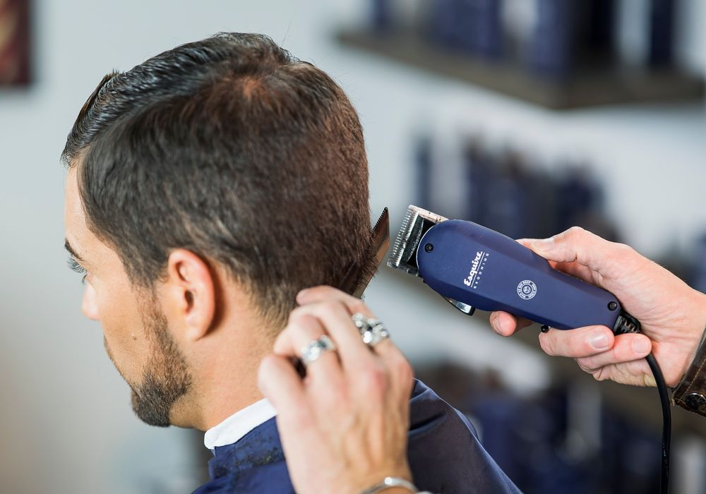 STEP 3: Continue detailing the perimeter on the side as needed with The Classic Professional Clipper.