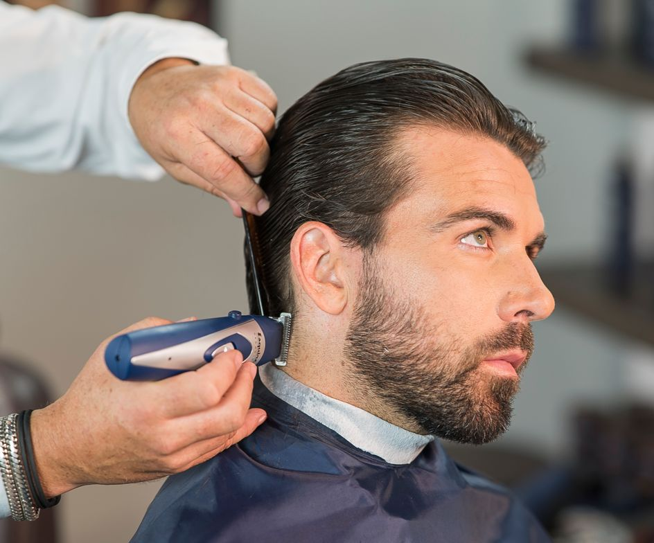 STEP 8: Apply The Esquire Texture Gel for hold.