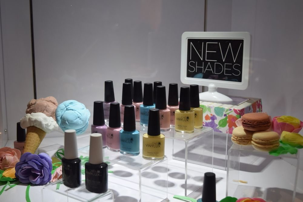 A delectable display at CND.