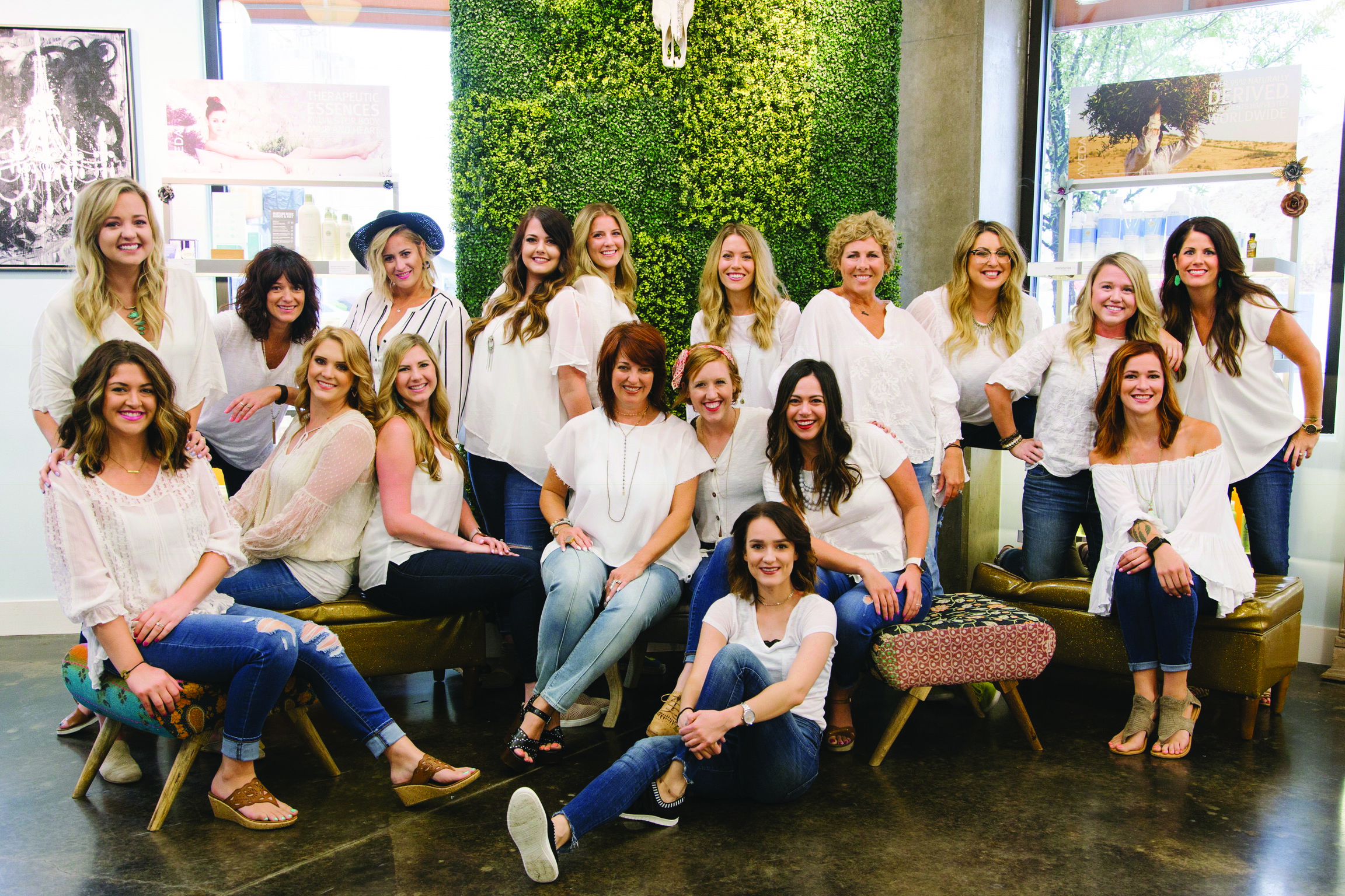 The team from DV8 The Salon in Grapevine, TX, boosted retail sales by 110% after implementing a new system.
