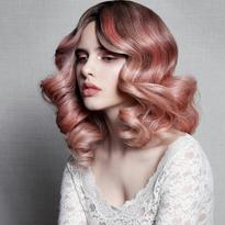 Pink Hair Portfolio from Matrix's Danielle Keasling