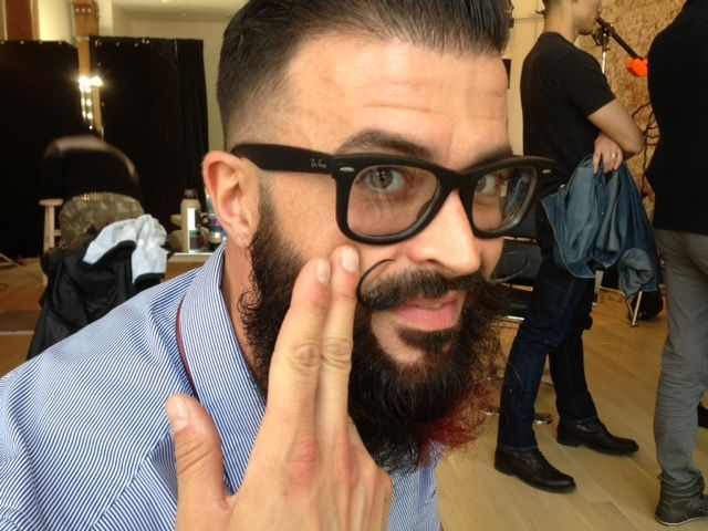 Danny Amorim Chats About His Handlebar Mustache