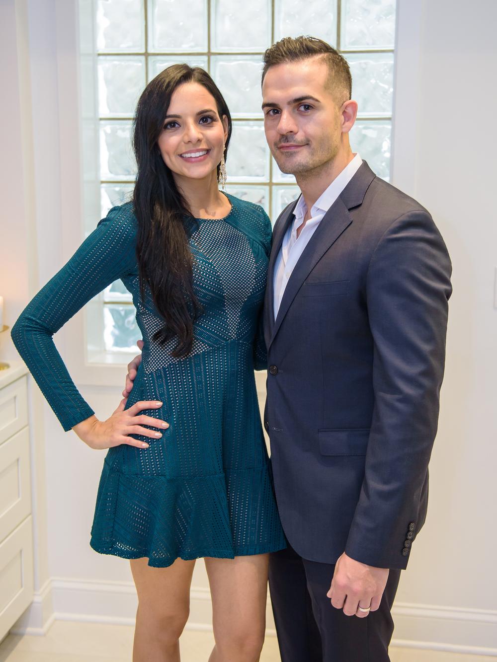 Jennifer and Leandro Da Silva, owners of Dasi Salon.