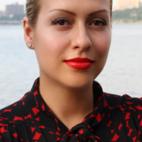 Dasha Minina, Beautician List founder and CEO, who is also a licensed nail technician.
