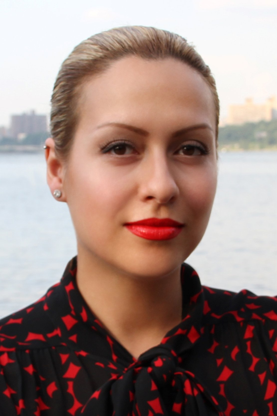 Dasha Minina, Beautician List founder and CEO, who is also a licensed nail technician. Dasha Minina