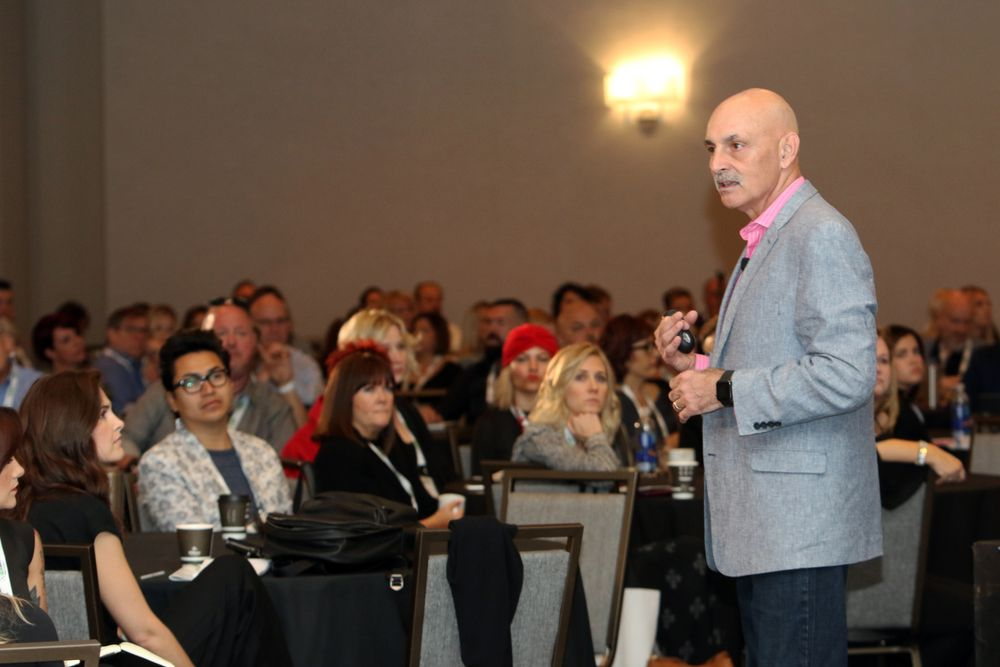 <p>Relationship Guru Dr. David Andersen helps DDS attendees master the art of &#39;Self Talk.&#39;</p>