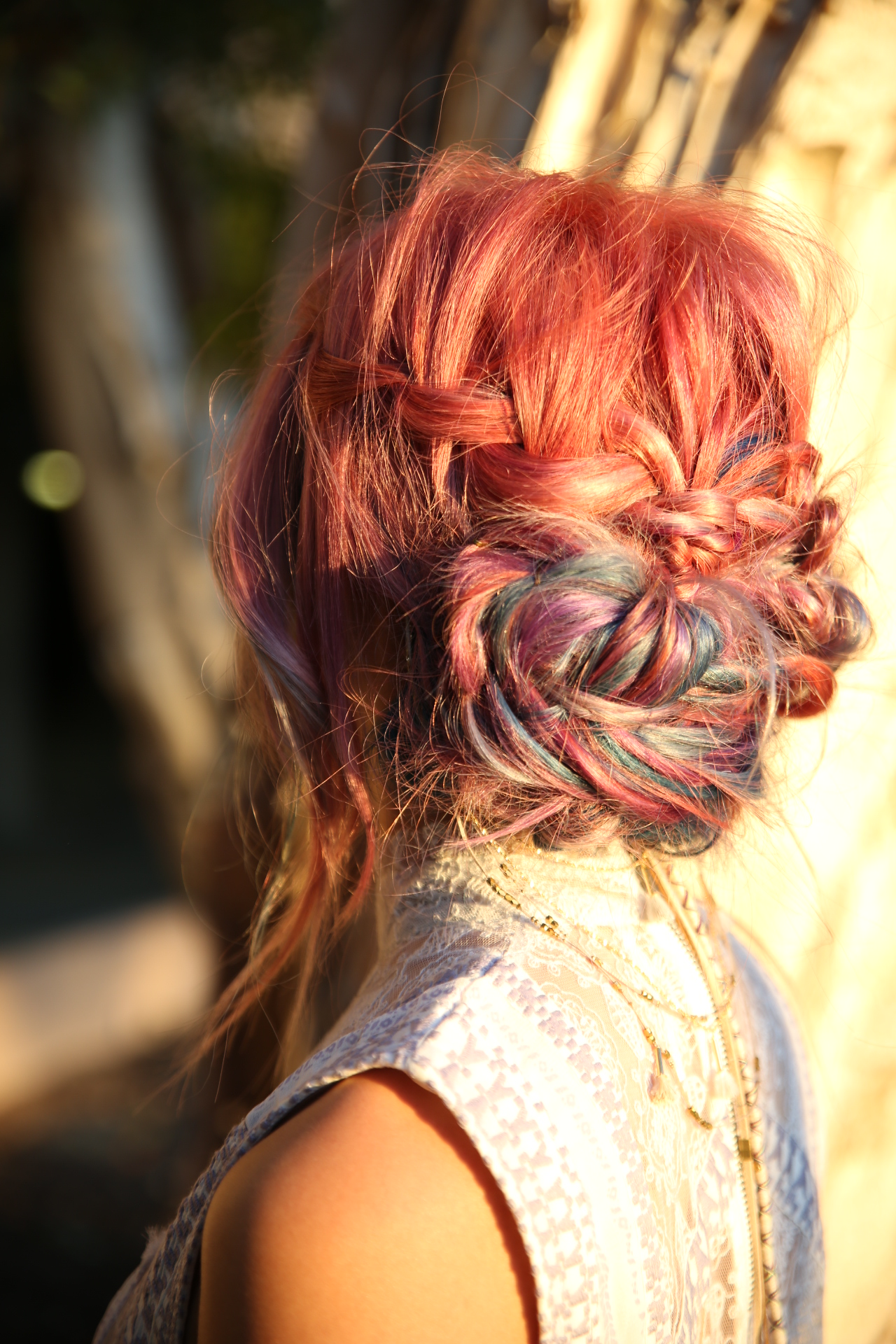 How-To: Braided Updo for Pravana Festival Look Day 3