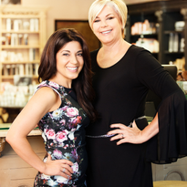 Denise Avallone and Donna Huston, owners of Adagio for Hair in El Dorado Hills, CA.