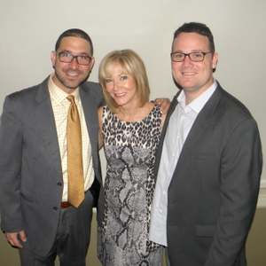Nick, Denise and Sam Provenzano, owners of Zano Salons headquartered in Naperville.