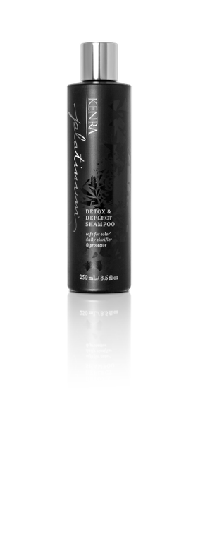 Shampoo and Conditioner: This is color safe daily care duo is enriched with activated charcoal to detoxify and precious diamond dust to deflect everyday pollutants. The Detox & Deflect Shampoo is enriched with activated charcoal to detoxify.