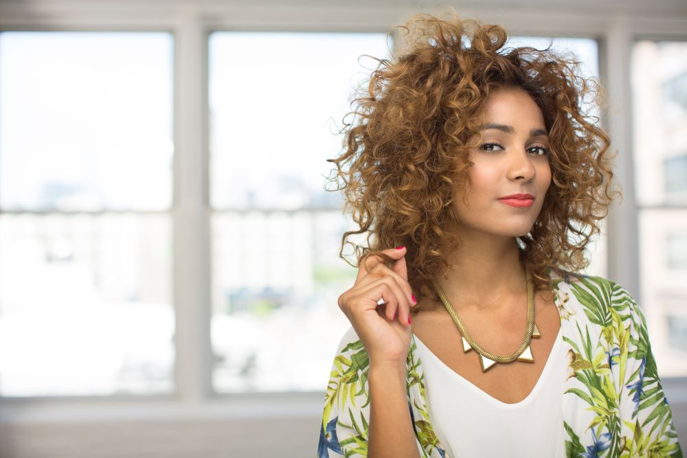 The Beautiful Mess: Effortless texture, carefree curls