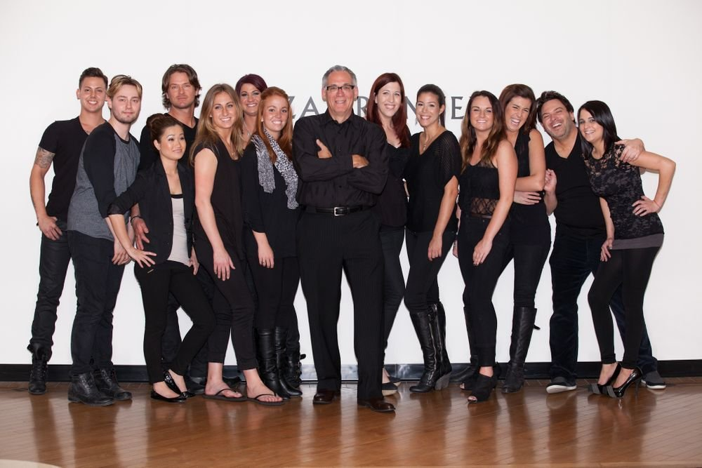 Dominic Bertani and his team representing the Dominic Michael Salons in Clayton and Chesterfield, Missouri.