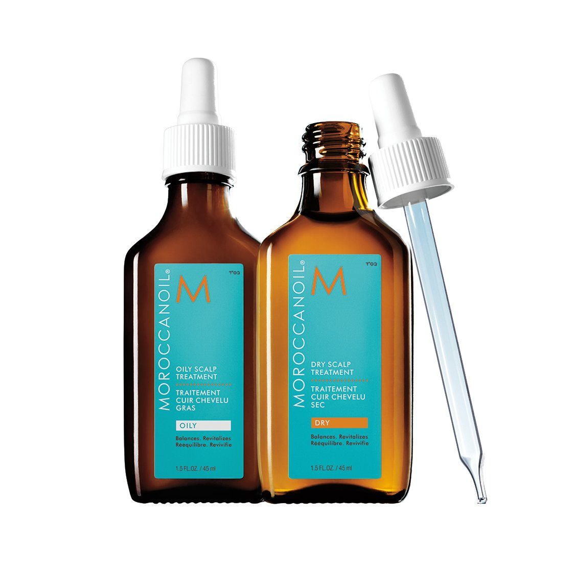 Moroccanoil Oily Scalp Treatment and Dry Scalp Treatment Duo