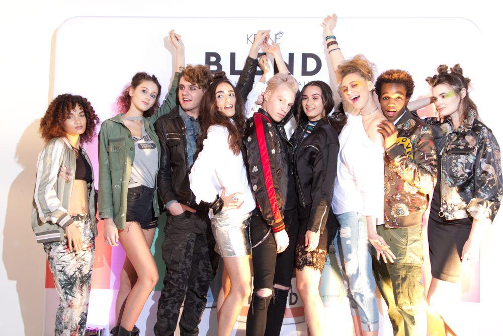 Keune Blend models.<em>Credit: Eric Ellis</em>