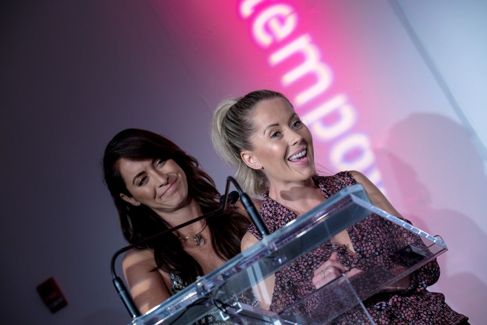 """Riawna Capri and Nikki Lee of Nine Zero One honored for being """"Rad Gals"""""""