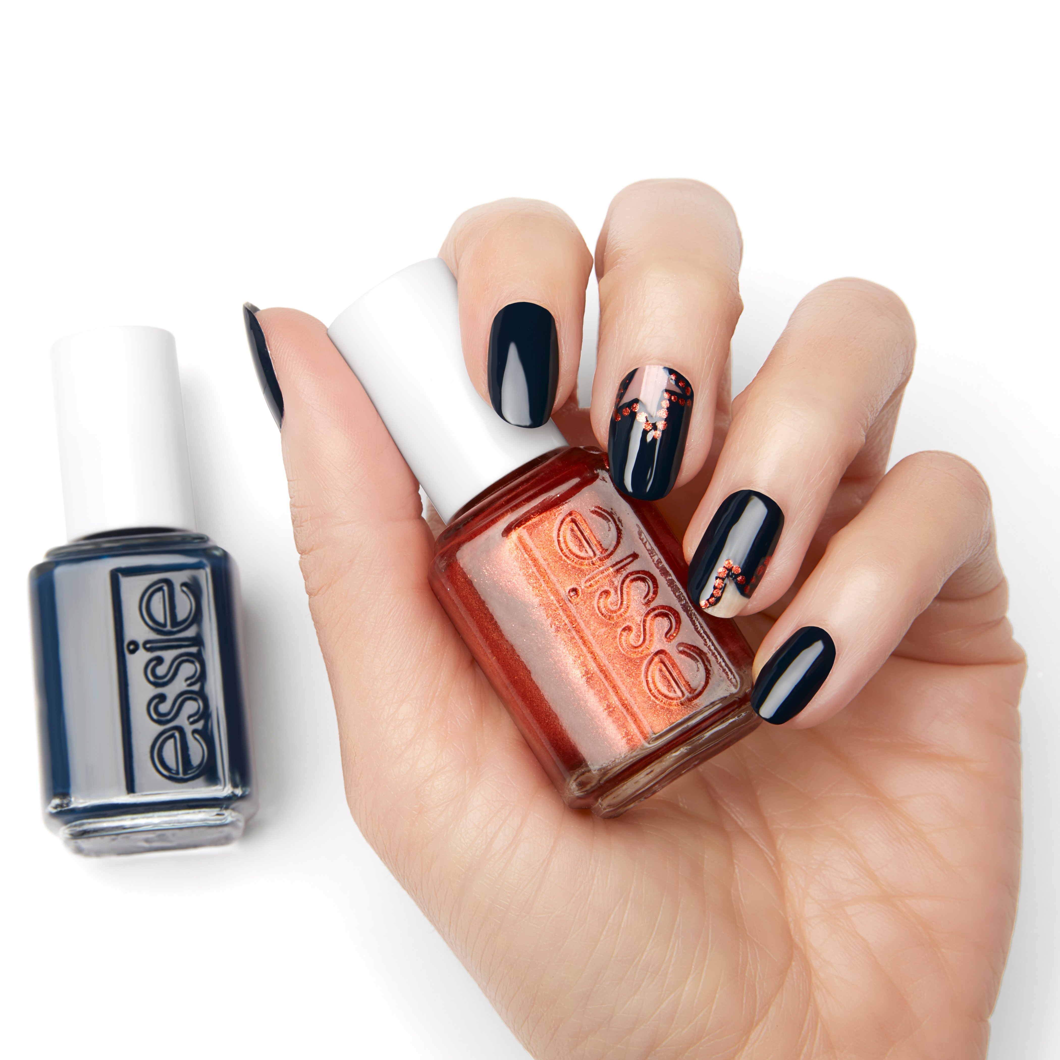 NAIL HOW-TO: Essie's Broadway Marquee Look
