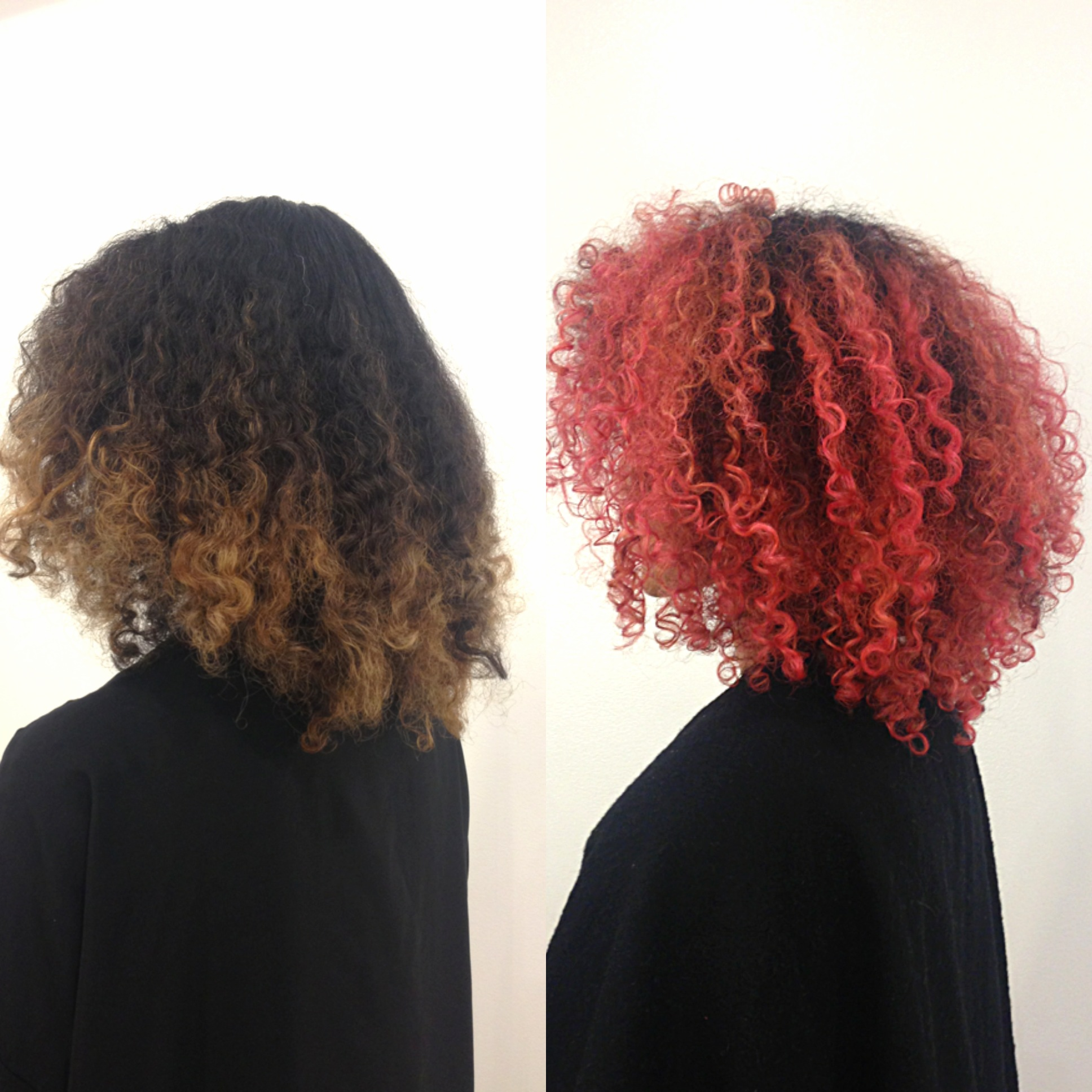 TRANSFORMATION: Pretty Red Curls