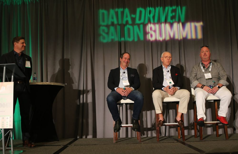 <p>Green Circle Salons&#39; Shane Price with panelists Scott Missad, Bill Moreland and Terry McKee discuss the business benefits of going green.</p>