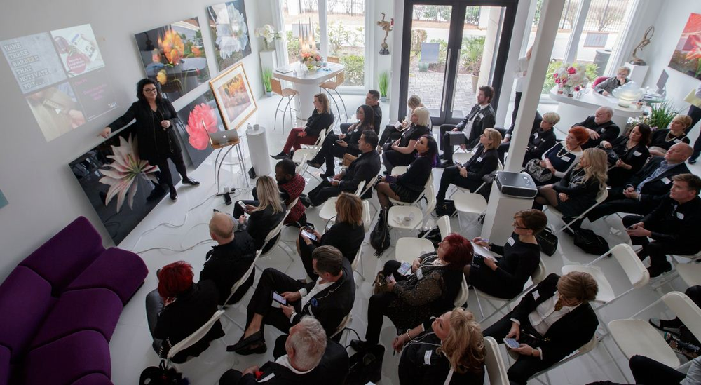 For the first 2017 Atlanta Salon Owners Group meeting, Wella Professionals sponsored social media expert Kelly Ehlers of Ideas that Evoke, who shared her digital wisdom.