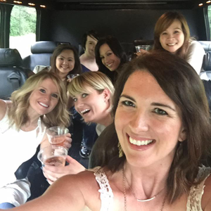 The Elite Eight retreat starts off with champagne in a limo, that whisks them off to the retreat...