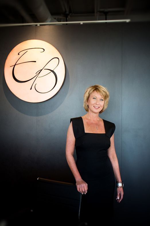 Liz Benke, ownr of Elizabeth Benke & Associates Salon and Color Studio in Doylestown, PA.