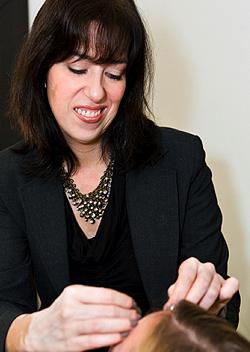 Elke Von Freudenberg Offers Eyebrow Tips