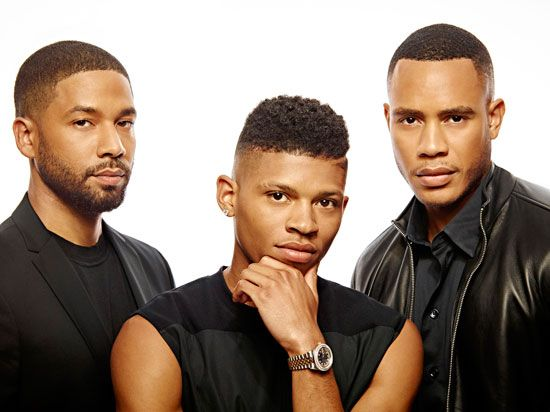 The Lyon brothers: Jamal (Jussie Smollett), Hakeem (Bryshere Y. Gray) and Andre (Trai Byers).