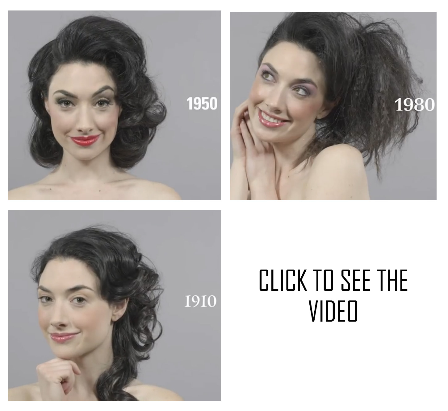See 100 Years of Beauty in ONE Minute!