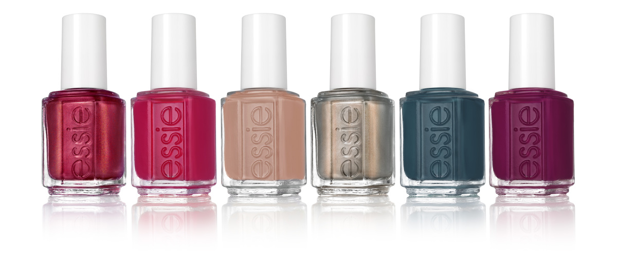 From left to right: Ring in the Bling, Be Cherry!, Suit & Tied, Social-Lights, On Your Mistletoes, New Year, New Hue