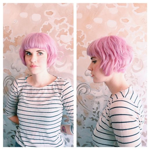 IN THE PINK: Formula and How-To for an Aveda Pastel Pink