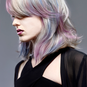 A dreamy cotton-candy-colored look fromEva Strömblad's Muse collection.
