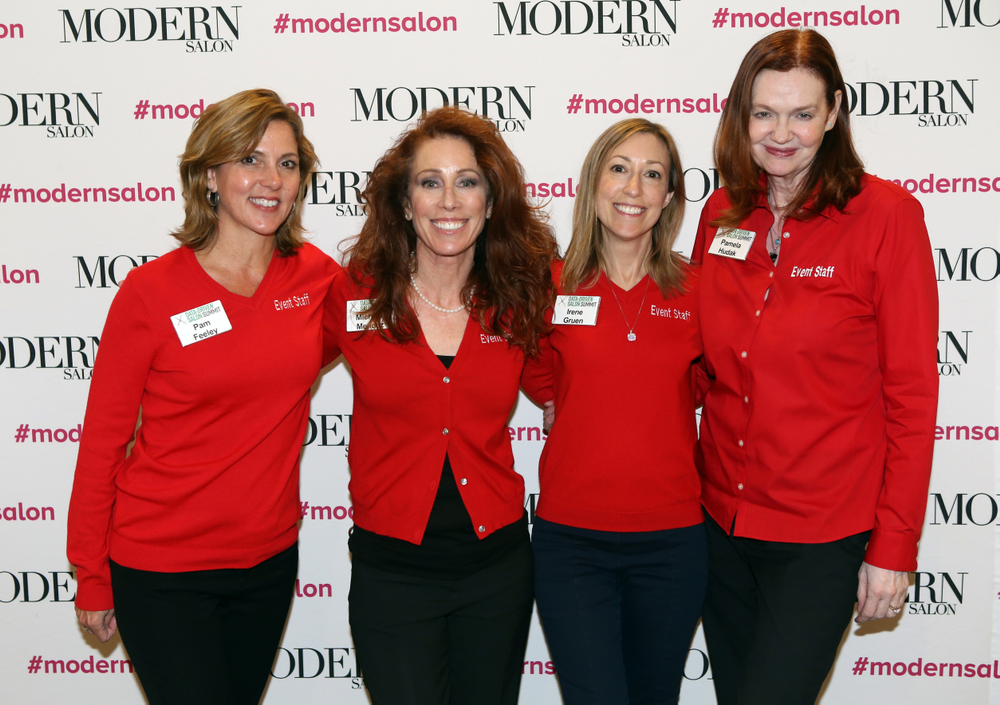 The Bobit Event Team's Pam Feeley, Michelle Mendez, Irene Gruen and Pamela Hudak kept the conference running smoothly.