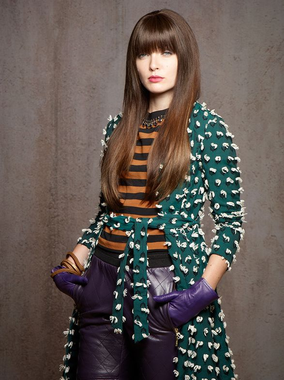 HAIR EXTENSIONIST -- Hair: Victoria Casciola for Hotheads; Makeup: David Maderich; Fashion styling: Rod Novoa
