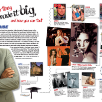 A career timeline of how Oribe made it big, featured in MODERN SALON's student publication, in 2011.