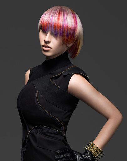 HOW-TO: Candy Pop Highlights With a Pearly Blonde Base by Joico