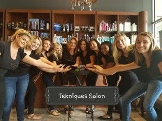 Even though Family Feud is favorite game at Tekniques Salon, the questions are designed to reinforce salon knowledge and education.