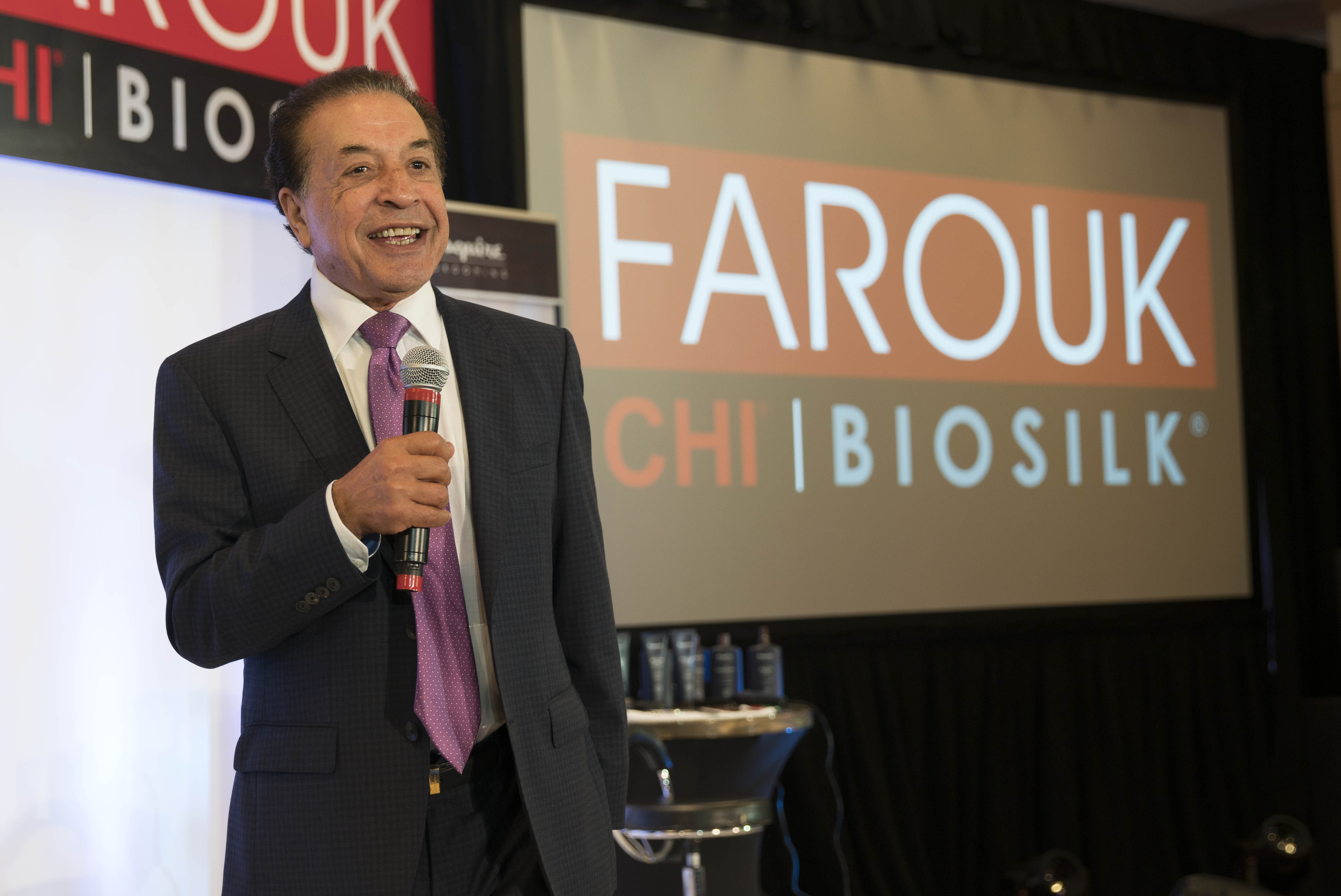Dr. Farouk Shami welcomed distributors and their representatives from the United States and globally for the company's International Distributor Meeting