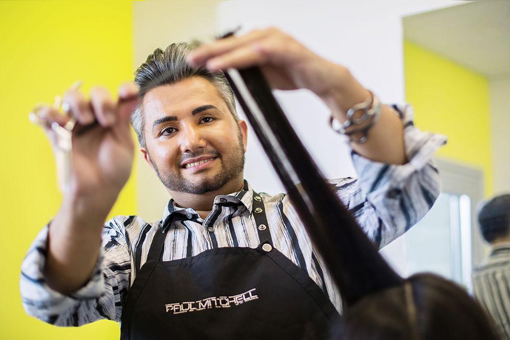 <strong>Fernando Adame, Final Cut Hair Studio, Albuquerque, N</strong>
