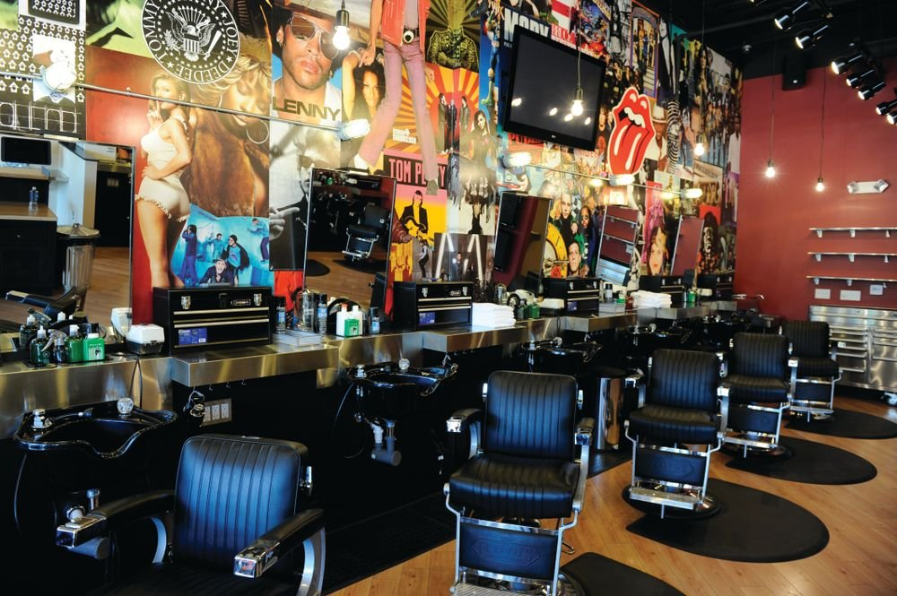 An interior of Floyd's 99, which has 86 locations nationally.