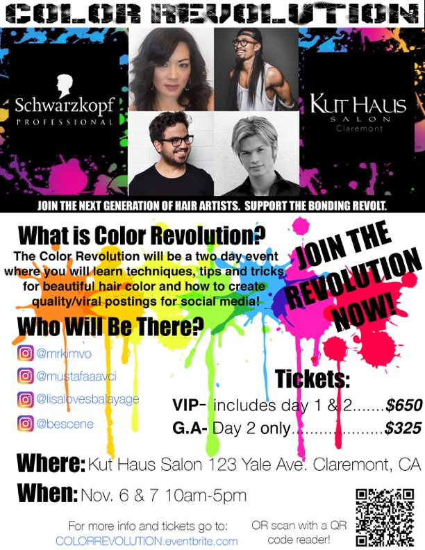 Schwarzkopf Professional Invites Stylists to Join the Color Revolution