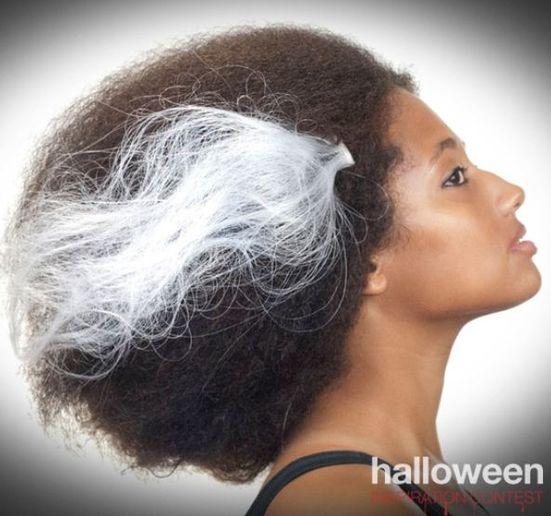 HALLOWEEN HOW-TO: Frankenstein Bride-Inspired Hair
